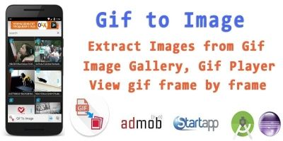 GIF To Image - Android App Source Code