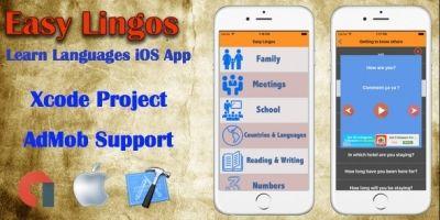 Easy Lingos - iOS XCode App Template