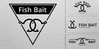Fish Bait - Logo Template