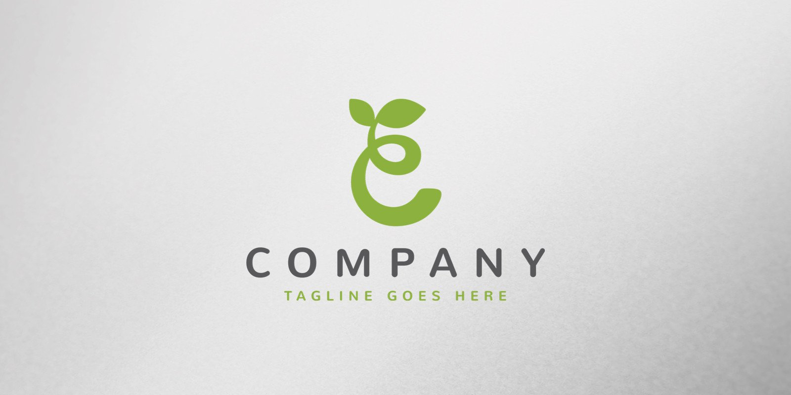 Nature Letter Logo Template