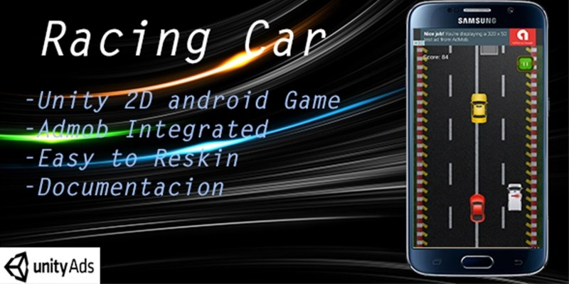 Racing Car With Admob - Full Unity Project
