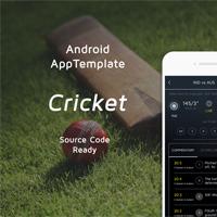 Cricket - Android Studio UI Kit
