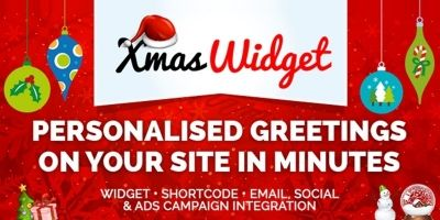 Xmas Widget - WordPress Plugin