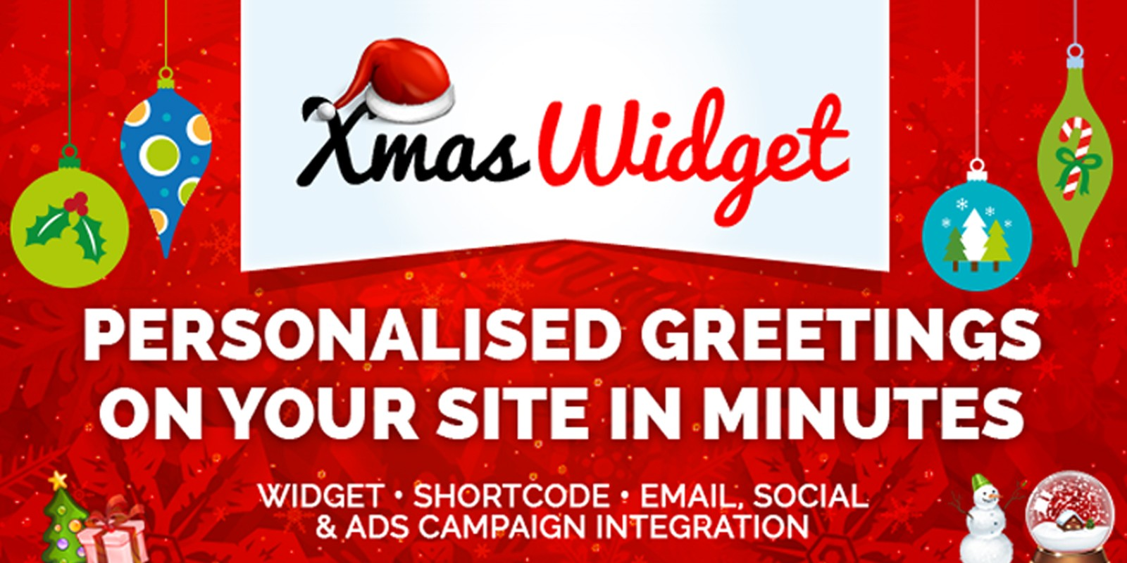 Xmas Widget - WordPress Plugin