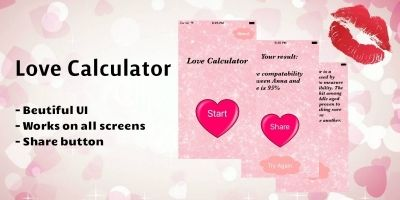 Love Calculator - iOS App Source Code