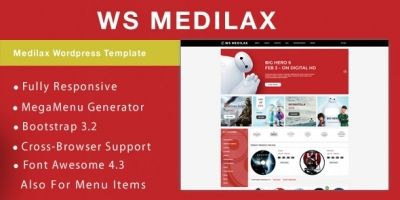 WS Medilax - Audio Store WooCommerce Template
