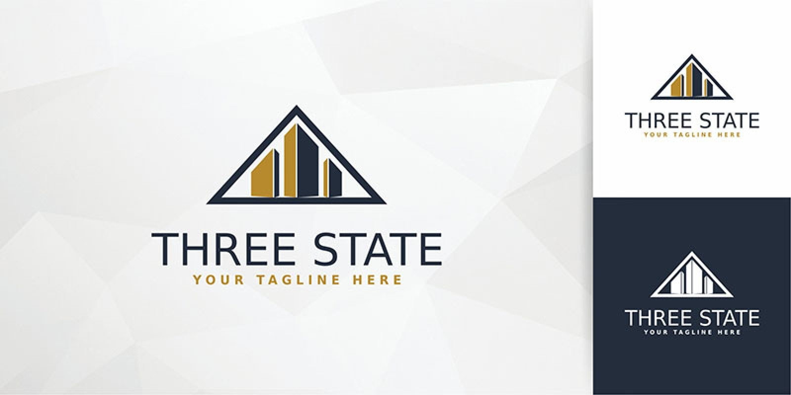 Three State - Logo Template
