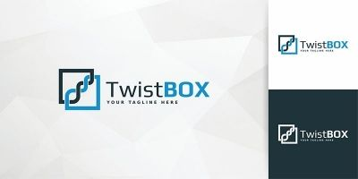 TwistBox - Logo Template