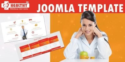 Healthy OX - Joomla Template
