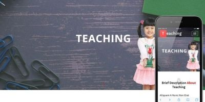 Teaching – School Bootstrap HTML Template
