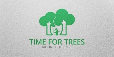 Time For Trees - Logo Template