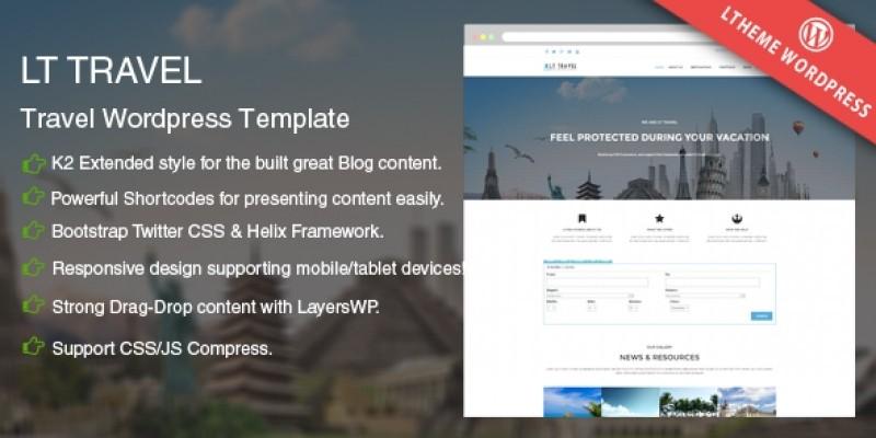 LT Travel - WordPress Travel Theme