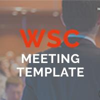 WSC Meeting - Multipurpose Meeting Template