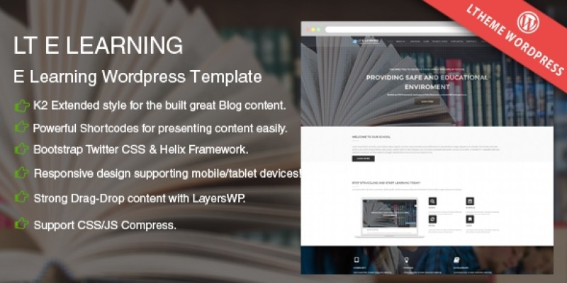 LT eLearning -  School WordPress Theme