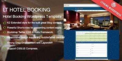 LT Hotel Booking – Responsive Wordpress Theme