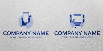 Business Phone - Logo Template