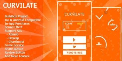 Curvilate - Buildbox Game Template