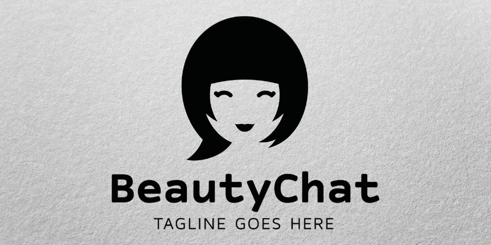 Beauty Chat - Logo Template