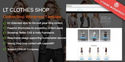 LT Shop - Online Shop Wordpress Theme