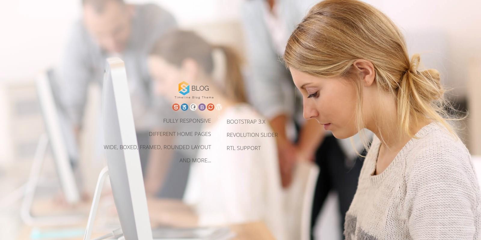 Jv Blog - Responsive WordPress Theme
