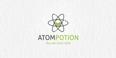 Atom Lab - Logo Template