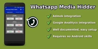 Whatsapp Media Hider - Android App Source Code