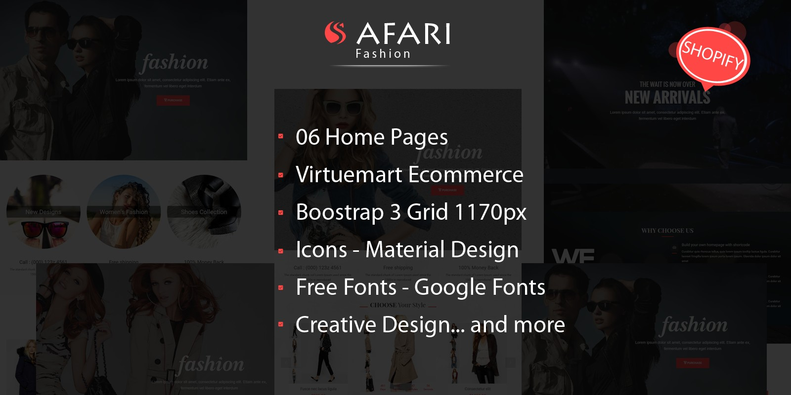 Safari - Responsive Multipurpose Shopify Theme