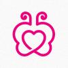 butterfly-heart-logo-template