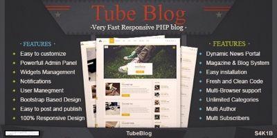 TubeBlog - PHP Blog Script
