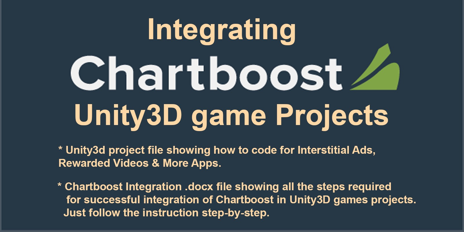Chartboost Integration Unity Project