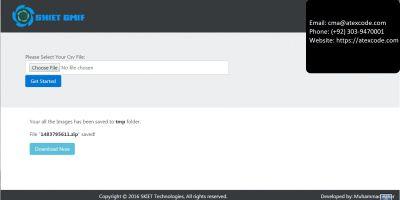 Google Maps Image Fetcher - PHP Script