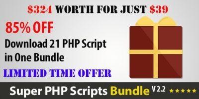 Super PHP Scripts Bundle