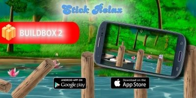 Stick Relax - Buildbox Game Template
