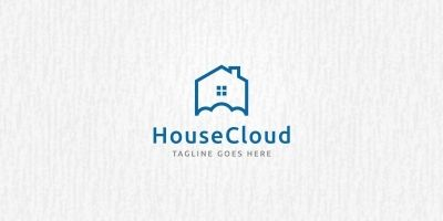 House Cloud - Logo Template