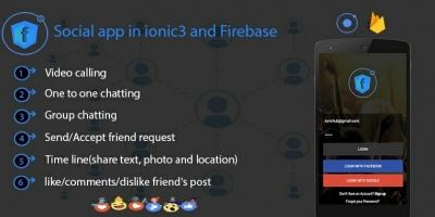 Facebook Clone In Ionic And Firebase