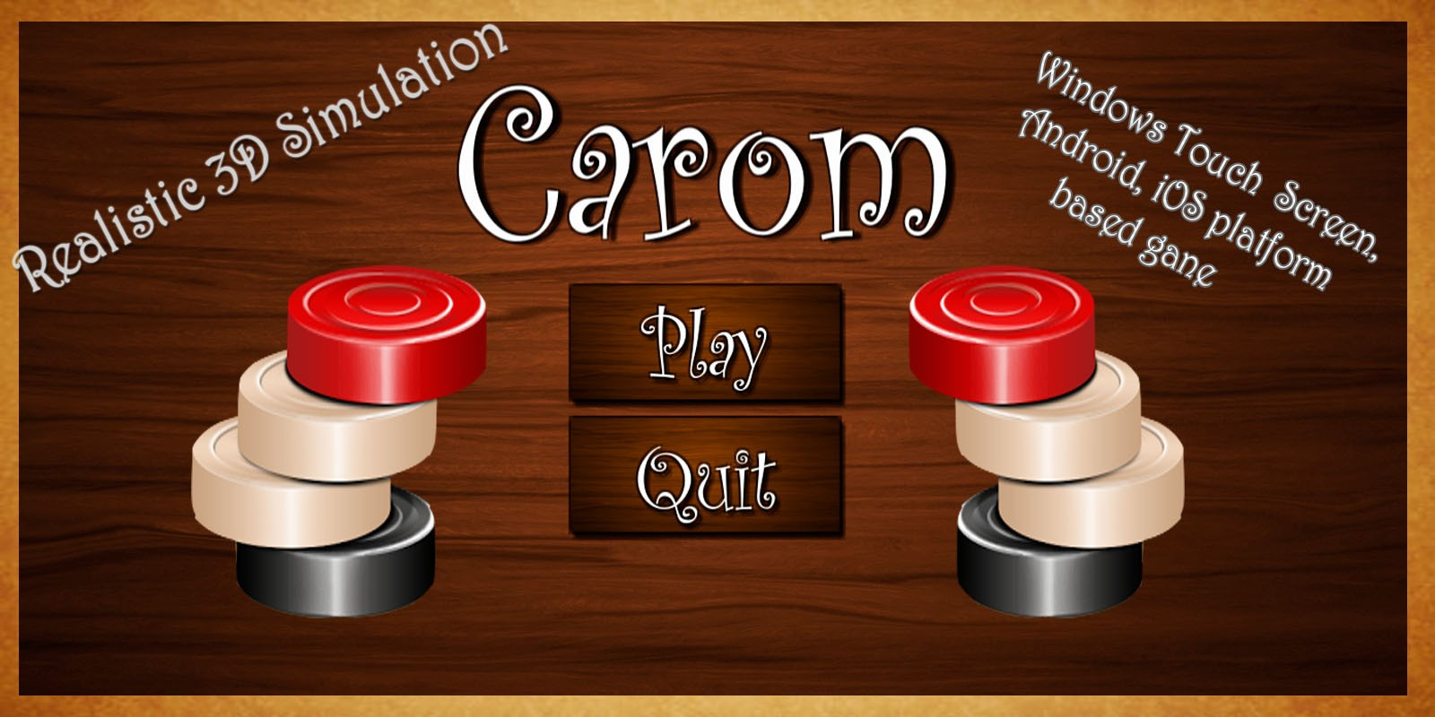 Carom - Unity Game Source Code