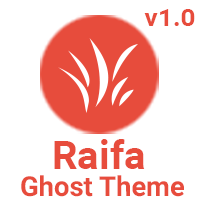 Raifa - Responsive Masonary Ghost Theme