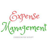 Expense Management system PHP Script