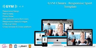Gym Chinara - Responsive Sport HTML Template