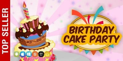 Birthday Cake Party - Unity Game Source Code