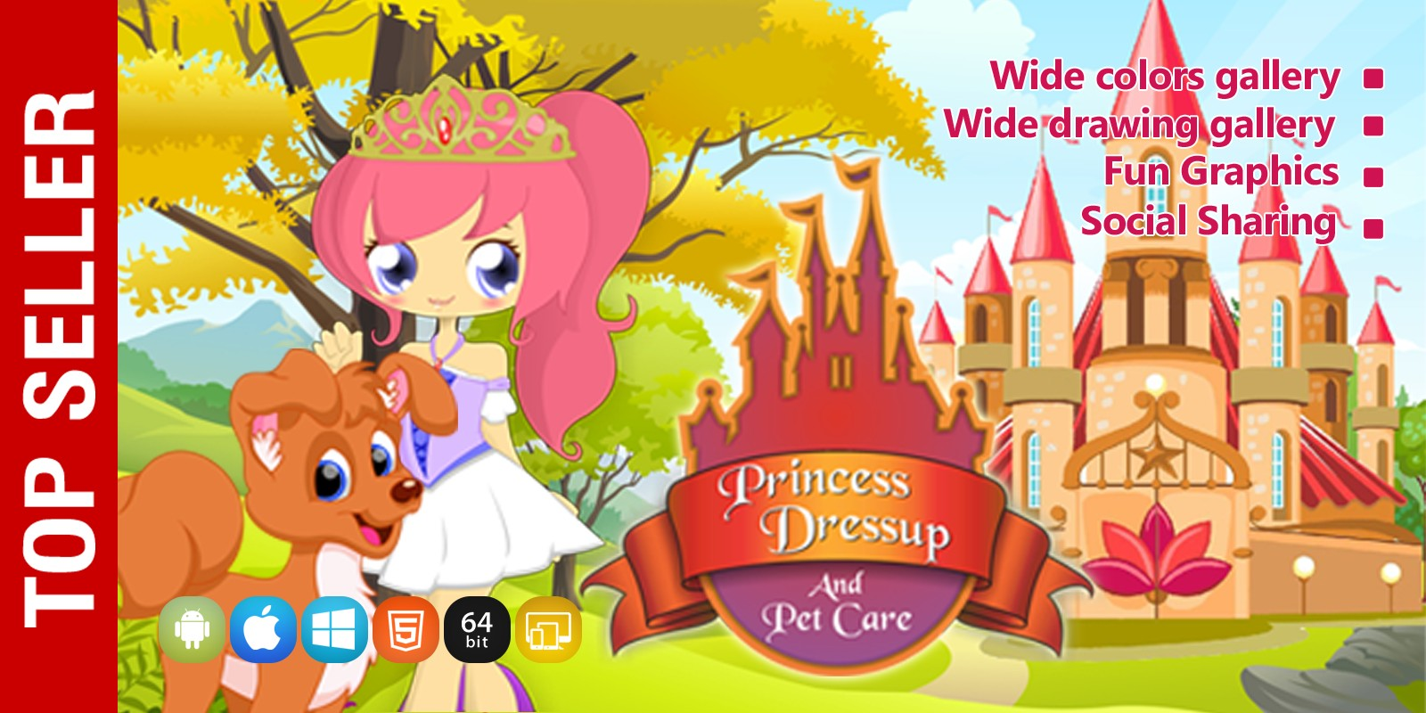 Princess Dress Up - Unity Source Code