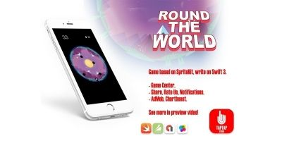Round The World - iOS Source Code