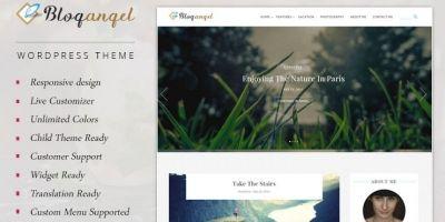 BlogAngel - Flawless Blogging Theme
