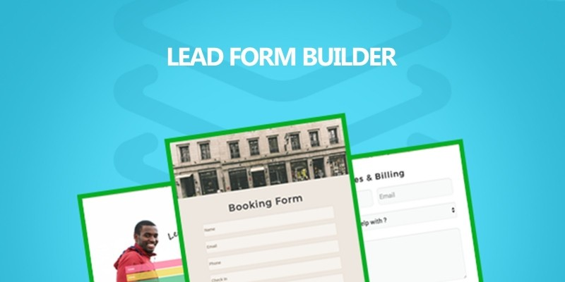 Lead Form Builder WordPress Plugin