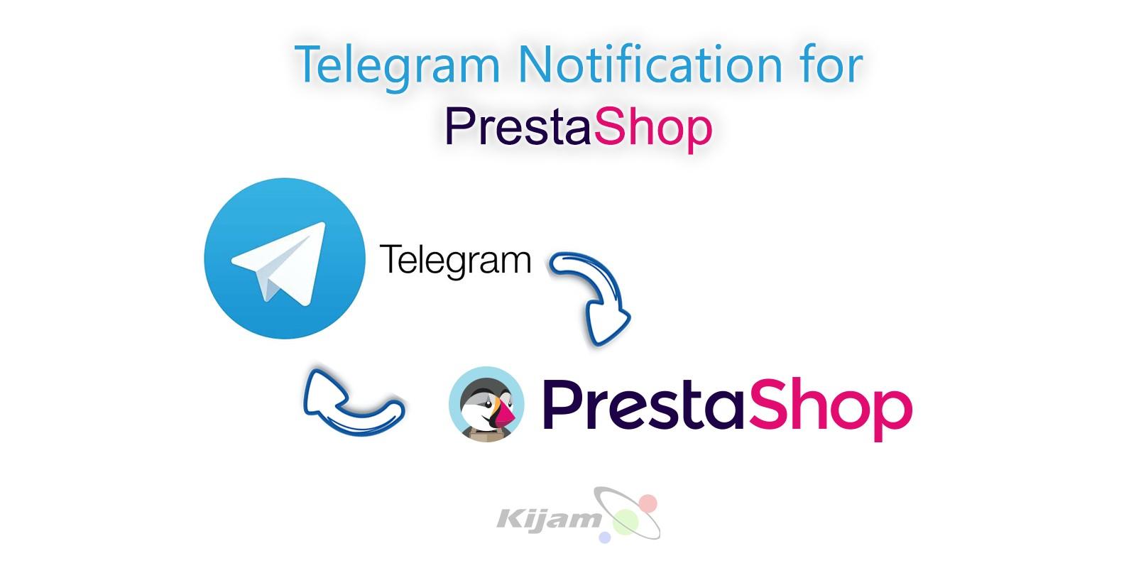 Telegram Notification For Prestashop
