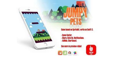 Jumpy Pets - iOS Xcode Source Code