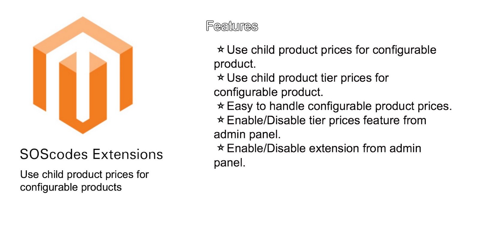 Magento Configurable Product Price Extension