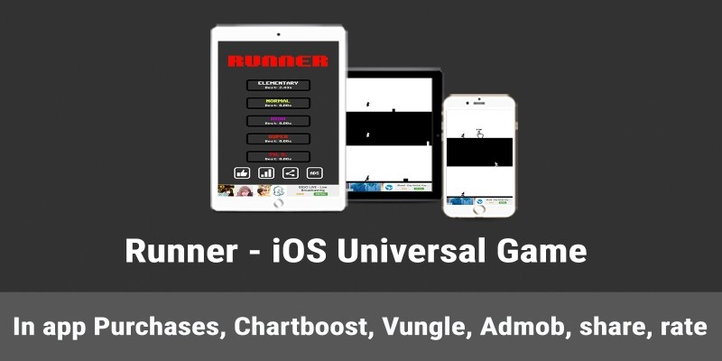 Runner - iOS Game Template