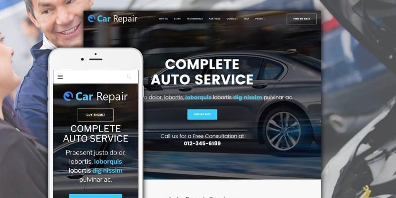 Car Repair - Auto Repair Service Wordpress Theme