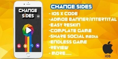 Change Sides - iOS Xcode Source Code
